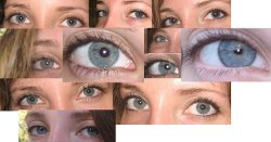 Blue eyes are too complicated genetically to be a true recessive.